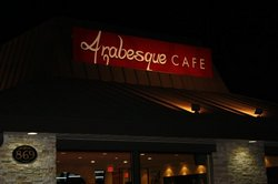 arabesque cafe outside view